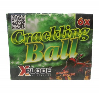 Crackling ball (6ks)